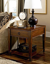 Load image into Gallery viewer, Hammary End Table in Rich Mahogany Finish