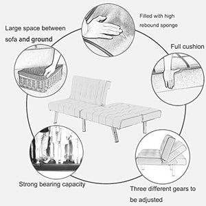Sofa Bed Futon Couch Sofa Futon Sleeper Sofa Recliner Couch Futon Sofa Bed Folding Couch Convertible Couch Living Room Couch for Small Space