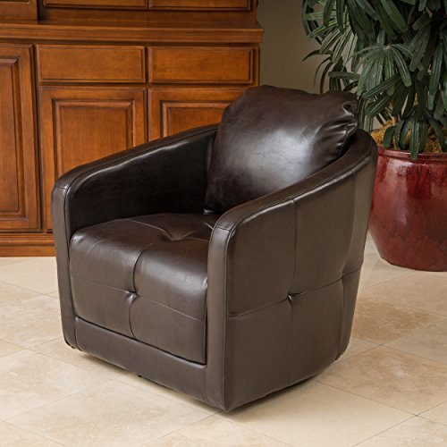 Christopher Knight Home 295179 Concordia Swivel Chair