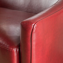 Load image into Gallery viewer, Christopher Knight Home 300593 Isolde Modern Petite Loveseat (Fabric (Red Leather)