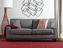 "Load image into Gallery viewer, Serta Deep Seating Palisades 78"" Sofa in Essex Gray"