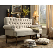 Load image into Gallery viewer, Rosevera C7-1 (Beige) Hermosa Loveseat
