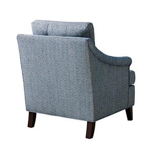Madison Park Charleston Tufted Club Chair-Navy