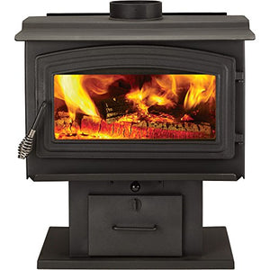 WoodPro Wood Stove - 90,000 BTU, EPA-Certified, Model# WS-TS-2000