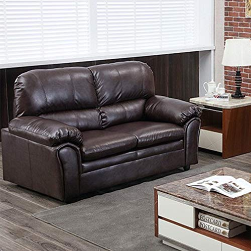 Sofa Sleeper Sofa Leather Loveseat Sofa Contemporary Sofa Couch for Living Room Furniture 2 Seat Modern Futon