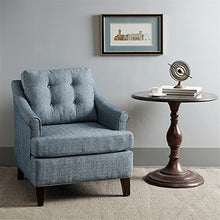Load image into Gallery viewer, Madison Park Charleston Tufted Club Chair-Navy