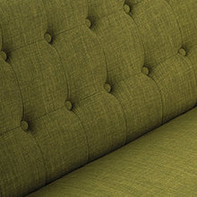"Load image into Gallery viewer, Avenue Six MLL52-M17 Loveseat, 51"" W x 29.5"" D x 31.5"" H, Green"
