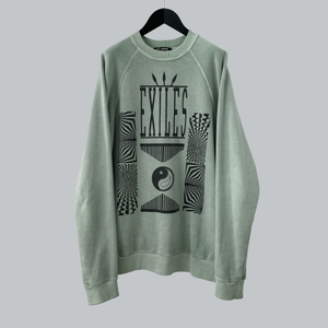"Raf Simons AW 2004-05 ""Exiles"" Crewneck Sweater / Wave Collection"