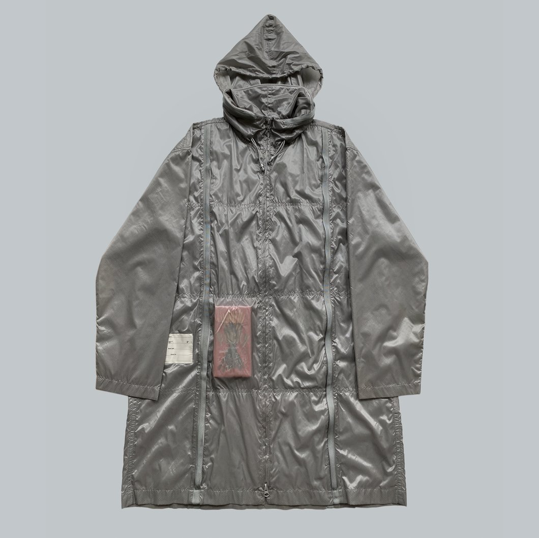 Final Home 32 Pockets Grey Survival Parka Designed By Kosuke Tsumura Sample