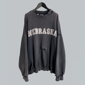 "Raf Simons AW 2002-03 ""Nebraska"" Crewneck Sweater / Virginia Creeper Collection"