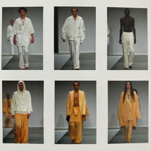 "Load image into Gallery viewer, Raf Simons SS 2004 ""Neck-Strap Bag"" Jacket / May The Circle Be Unbroken Collection"