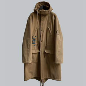"Raf Simons AW 2003-04 ""PCL"" Fishtail Parka / Closer Collection / Redux Collection"