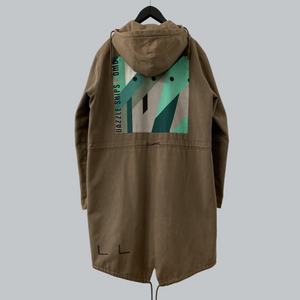 "Raf Simons AW 2003-04 ""Dazzle Ships"" Fishtail Parka / Closer Collection"