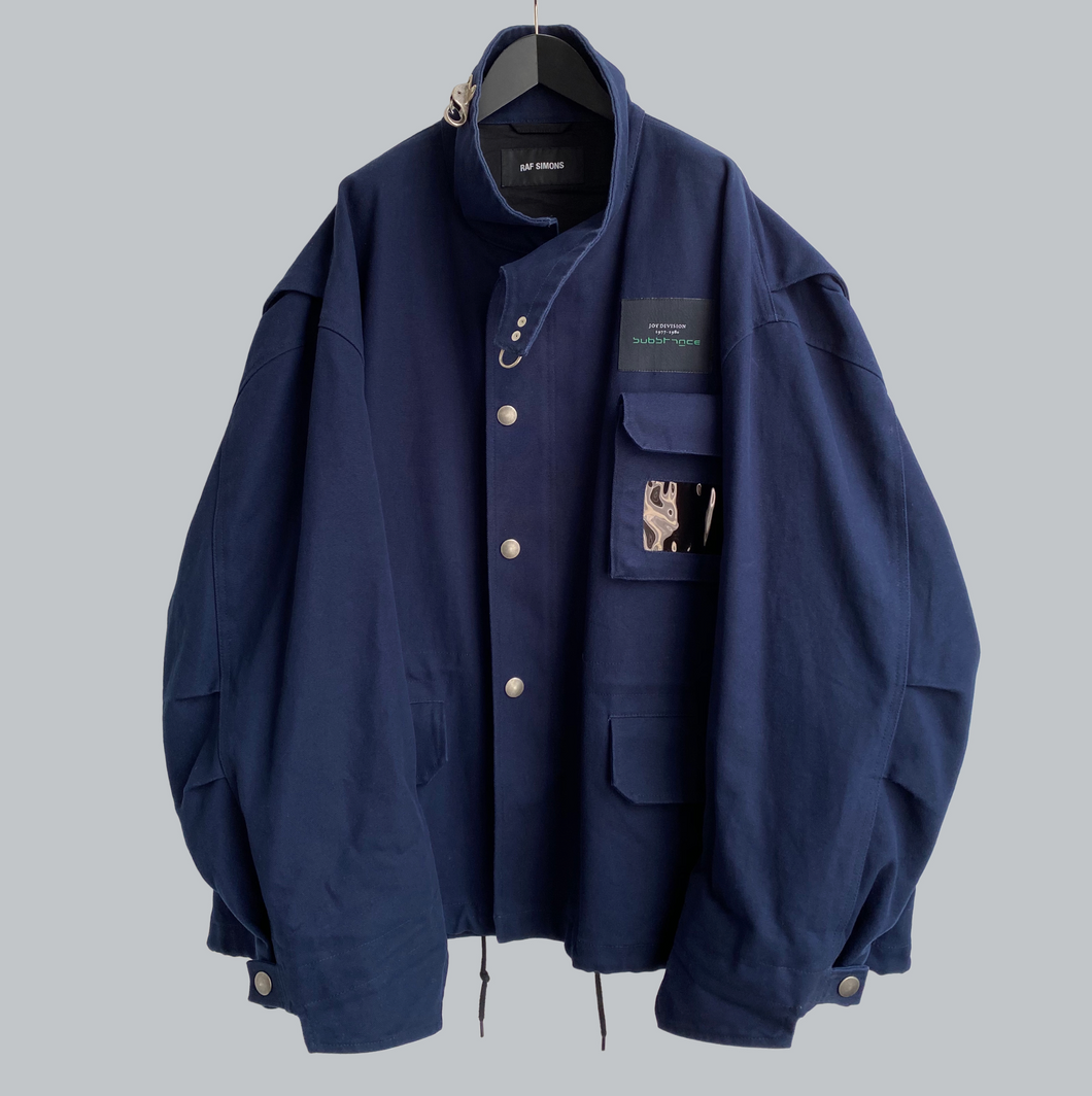 Raf Simons SS 2018 Fireman Buckle Oversize Jacket / Replicants Collection
