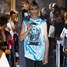 Load image into Gallery viewer, Raf Simons S/S 2019 Sleeveless Garment Printed Top