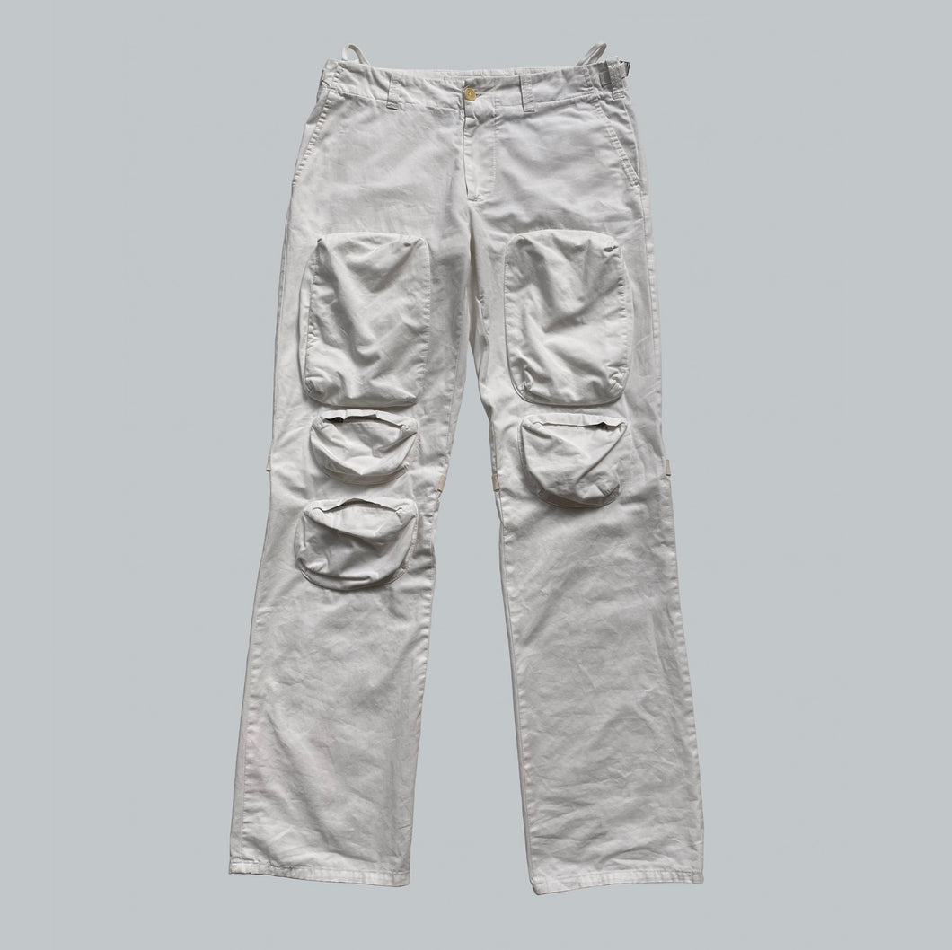 Helmut Lang Multi-Pocket Bondage Cargo Trousers SS00