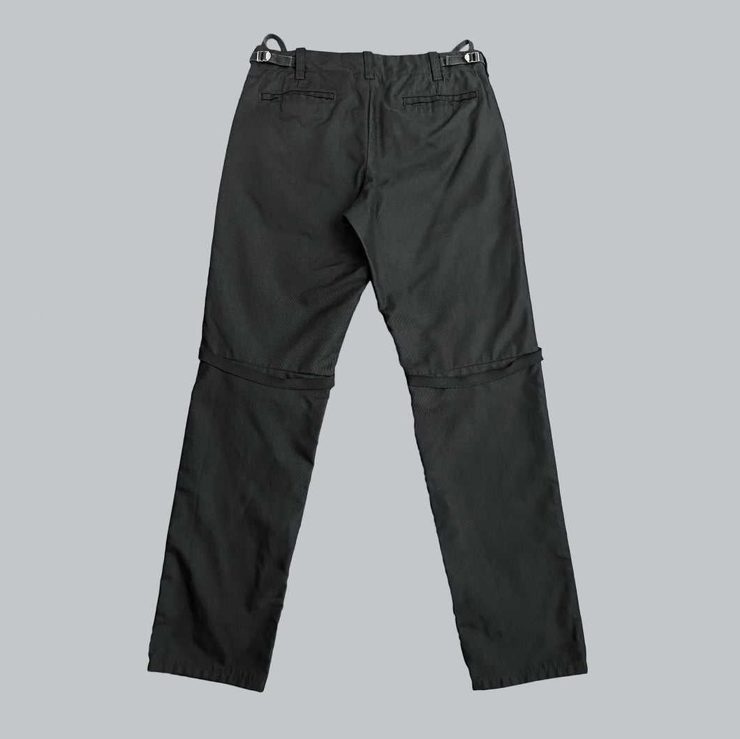 Helmut Lang AW99 Ballistic Nylon 5 Pocket Pants with Bondage Straps