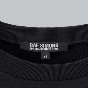 "Raf Simons AW 2005-06 ""A Promise Ring"" Crewneck Sweater / History Of My World Collection"