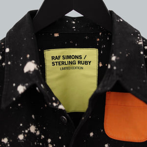 Raf Simons AW 2014-15 X Sterling Ruby Hand bleached Oversized LS Button Down Shirt