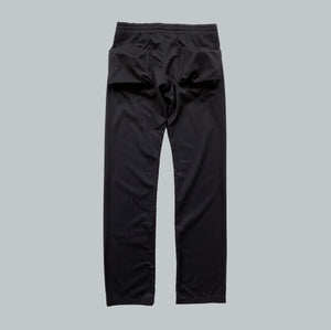 "Takahiro Miyashita NUMBER (N)INE Black / Red Pinstripe Cargo Pants AW2005 ""The High Streets"" Collection"