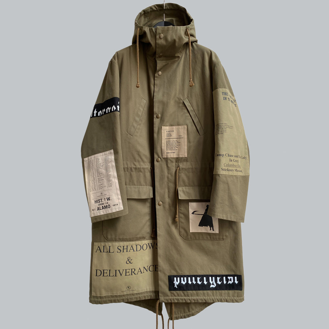 "Raf Simons AW 2005-06 ""Poltergeist"" Parka / History Of My World Collection"