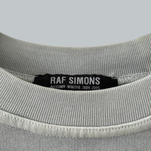 "Raf Simons AW 2004-05 ""Wave Test"" Short Sleeves Crewneck Sweater / Wave Collection"