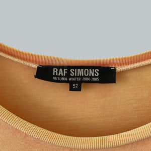 "Raf Simons AW 2004-05 ""Exiles"" Oversize Tshirt / Wave Collection"