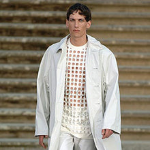 "Load image into Gallery viewer, Raf Simons SS 2006 ""Aether Et Anima"" Laser Cut Tank Top / Icarus Surgit Collection"