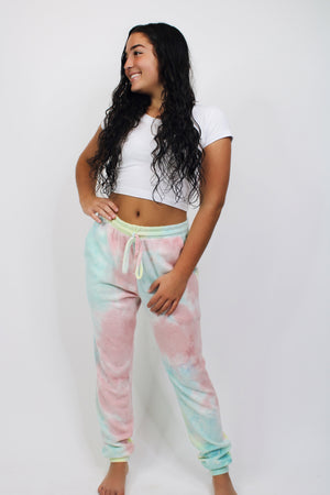 Biggest Fan Tie Dye Joggers
