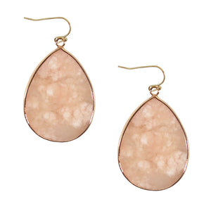 Living Luxe's Stone Earrings