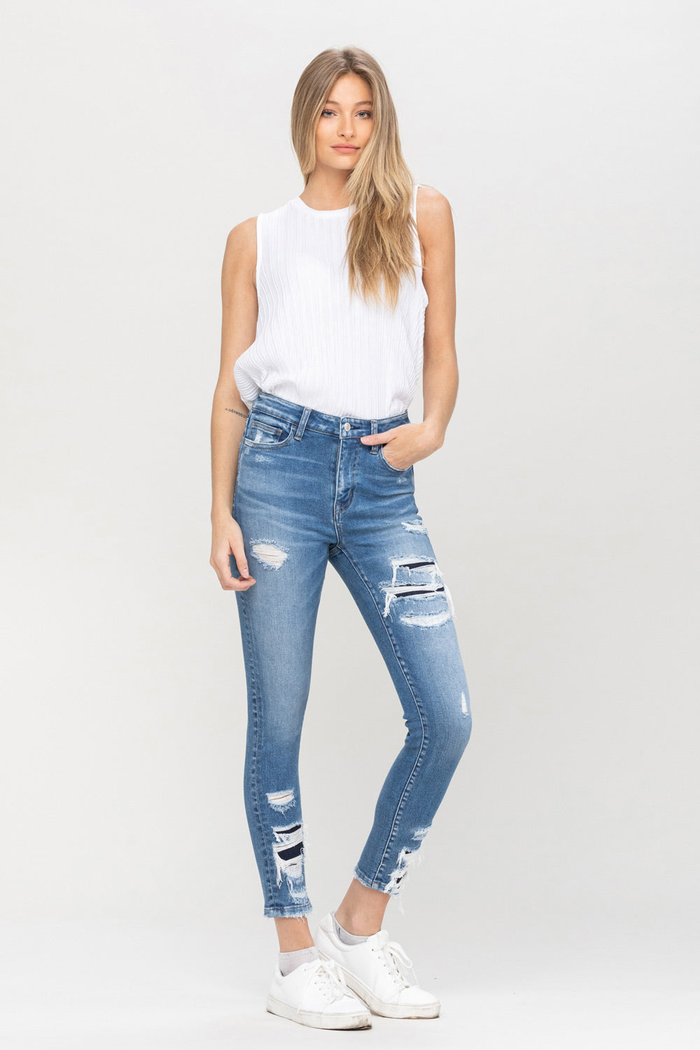 The Samantha Crop Skinny Jeans