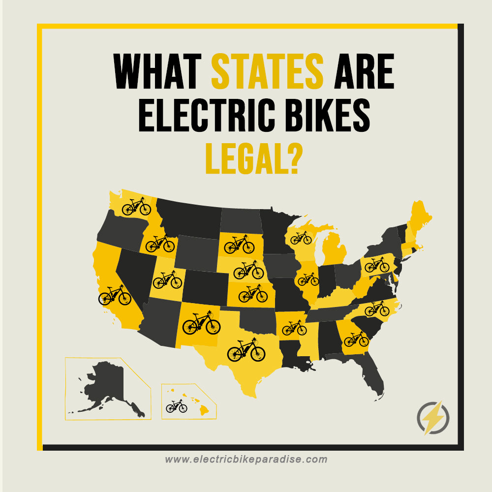 What States Are Electric Bikes Legal?