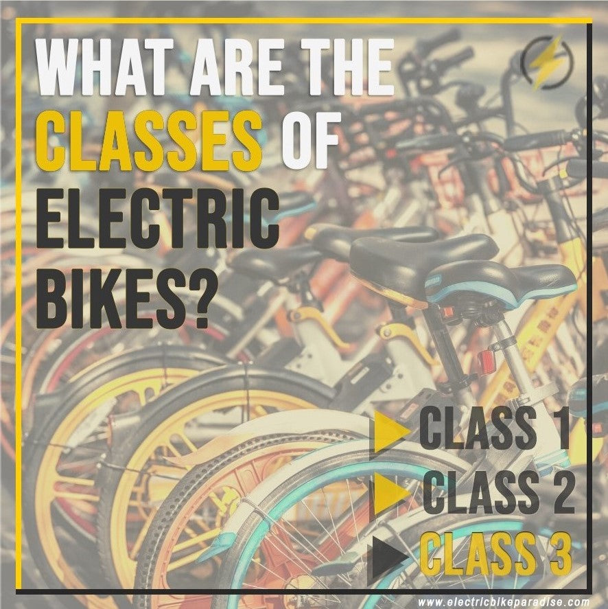 What Are the Classes of Electric Bikes?