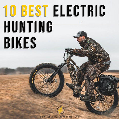 10 Best Electric Hunting Bikes