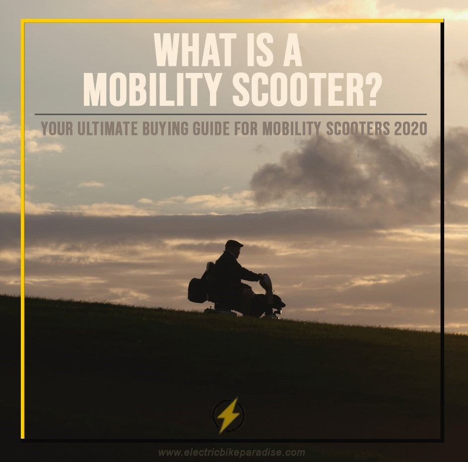 What is a Mobility Scooter? Your Ultimate Buying Guide for Mobility Scooters 2020