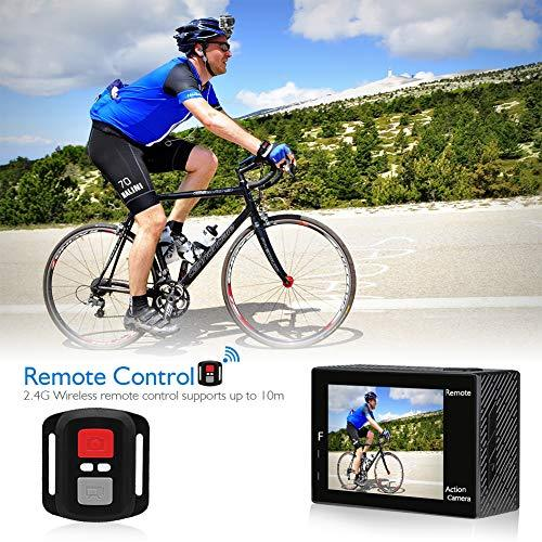 20MP WiFi Ultra HD Action Camera with Helmet Accessories Kit