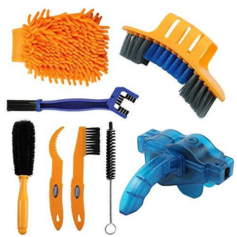 8-in-1 Bicycle Cleaning Brush Tool