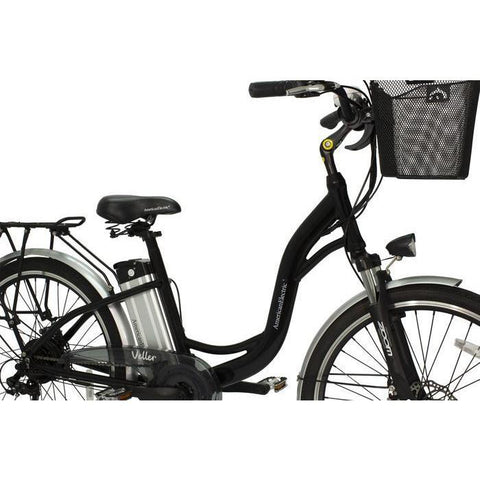 American Electric Veller 36 Volt 10 Amps Cruiser Electric Bicycle  AEV-BLCK