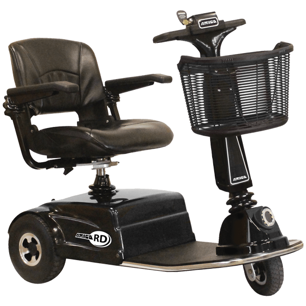 Amigo RD Three Wheel Mobility Scooter (Shabbat Option Available)