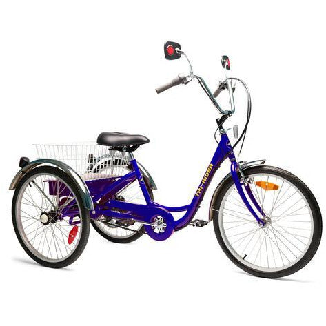 "Belize Tri-Rider Elek-Trike 24"" 24V/20Ah 450W  Transportation Electric Trike 98183"