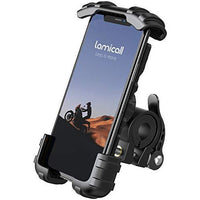 Handlebar Stainless Steel Phone Mount