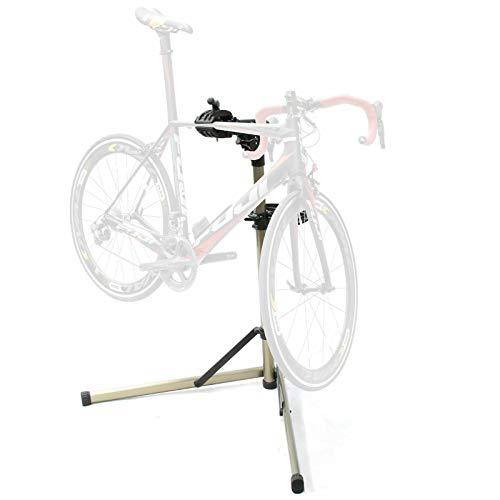 Bikehand Bike Repair Stand - Home Portable Bicycle Mechanics Workstand - for Mountain Bikes and Road Bikes Maintenance
