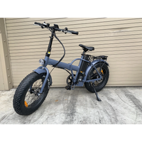 Blank Bike 48V/15.6Ah 750W Fat Tire Folding Electric Bike FFO-420-750
