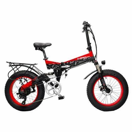 Cyrusher 48V/10.4Ah 500W Folding Fat Tire Electric Bike X3000