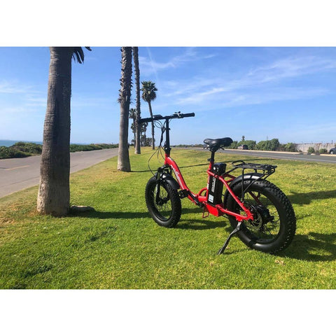 EMOJO RAM Sport Fat Tire Folding Electric Bike