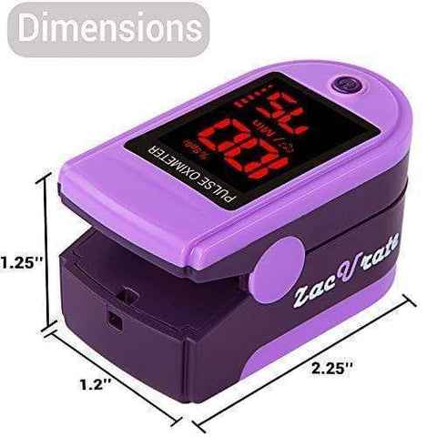 Fingertip Pulse Oximeter with Silicon Cover
