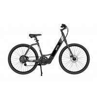 GenZe Step-Thru 36V/9.6Ah 350W Matte Black Cruiser Electric Bike E222