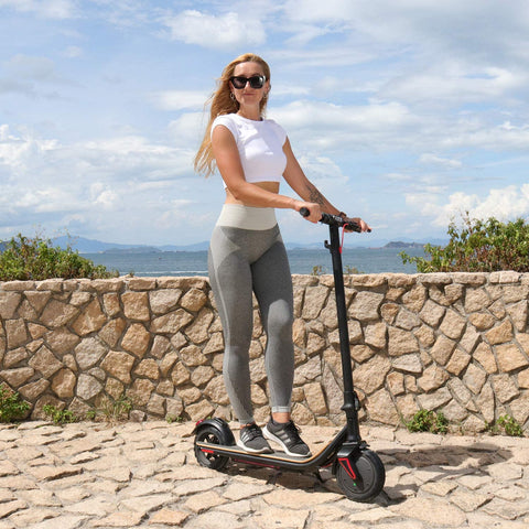 GlareWheel 36V/8Ah 350W City Commuter Folding Electric Scooter ES-S10X