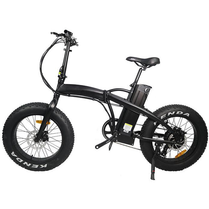 GlareWheel 48V/13Ah 500W Folding Fat Tire Electric Bike EB-RE
