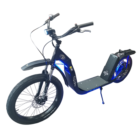 Glide Cruisers Raptor 48V 1000 Watt Fat tire Electric Scooter F1